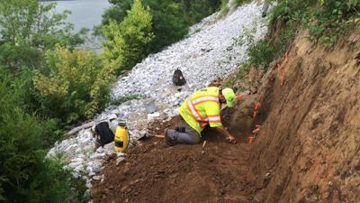 Artifacts found in southern Indiana landslide near Horseshoe Casino