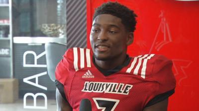 Louisville junior safety Russ Yeast