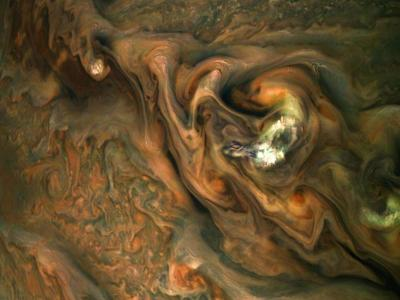 Jupiter Clouds Are Not Like Earth Clouds