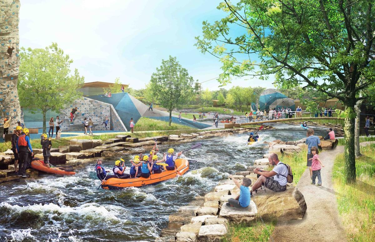 Outdoor Adventure Park rendering