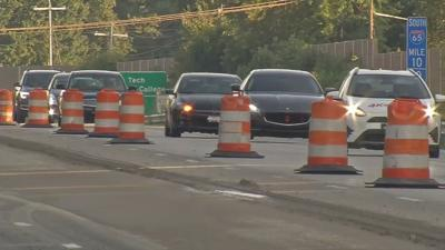 Major road work begins on I-65 in southern Indiana
