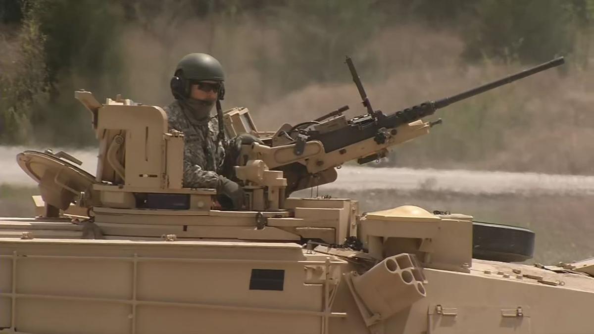 Ohio National Guard tank training at Fort Knox 4-15-19