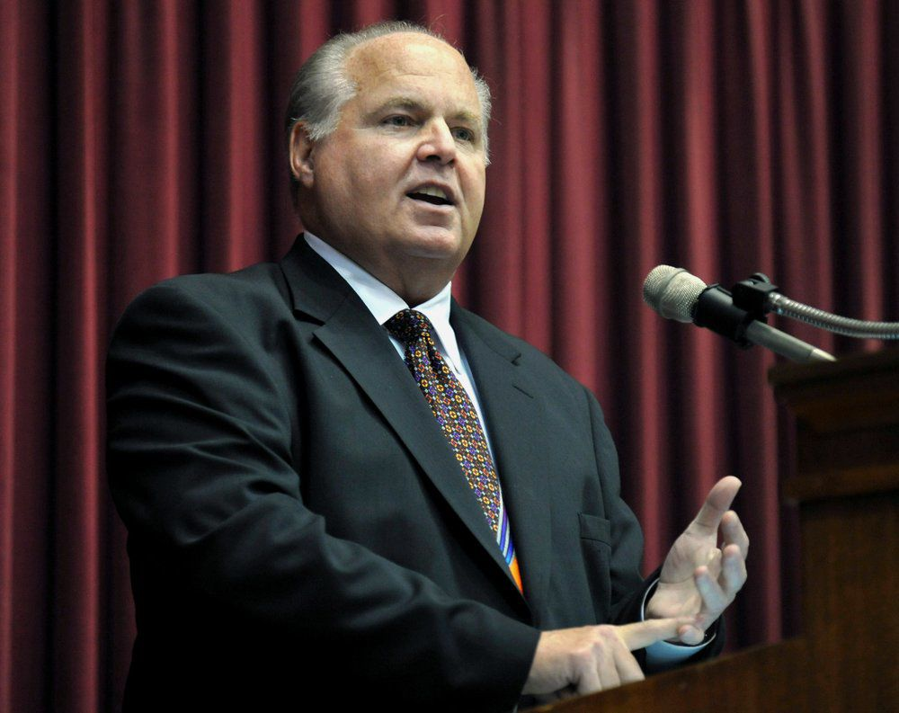 Cancer-stricken Rush Limbaugh says he can no longer deny he's 'under a death sentence'