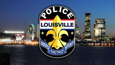 LMPD Logo Over City Background