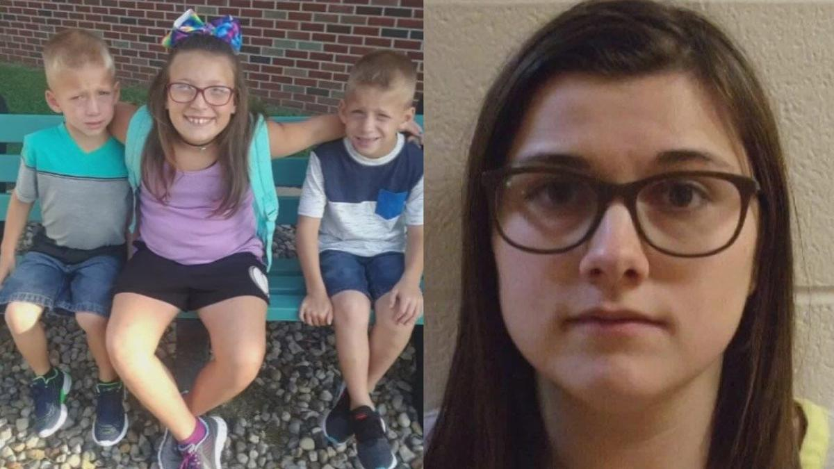 Alyssa Shepherd, along with the 3 children who died in a crash