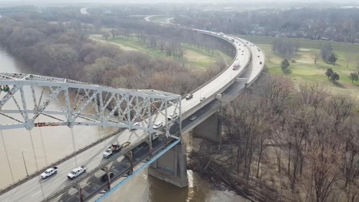 Sherman Minton Bridge (generic aerial)