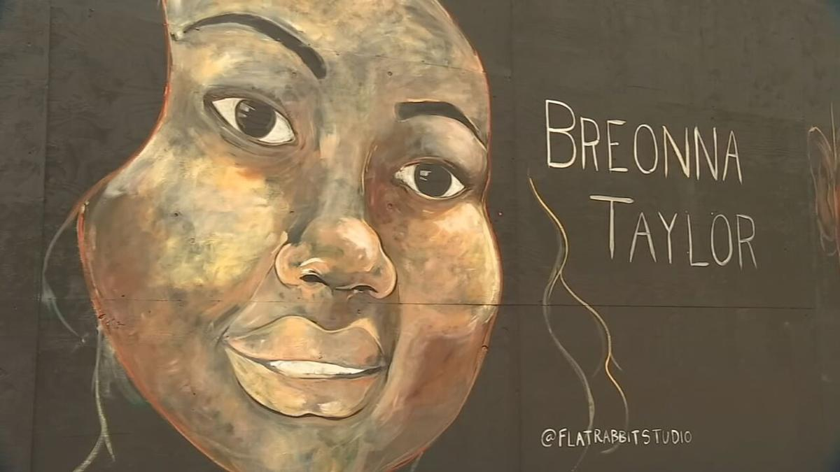Portland Artist Memorializes Breonna Taylor With Mural News Wdrb Com