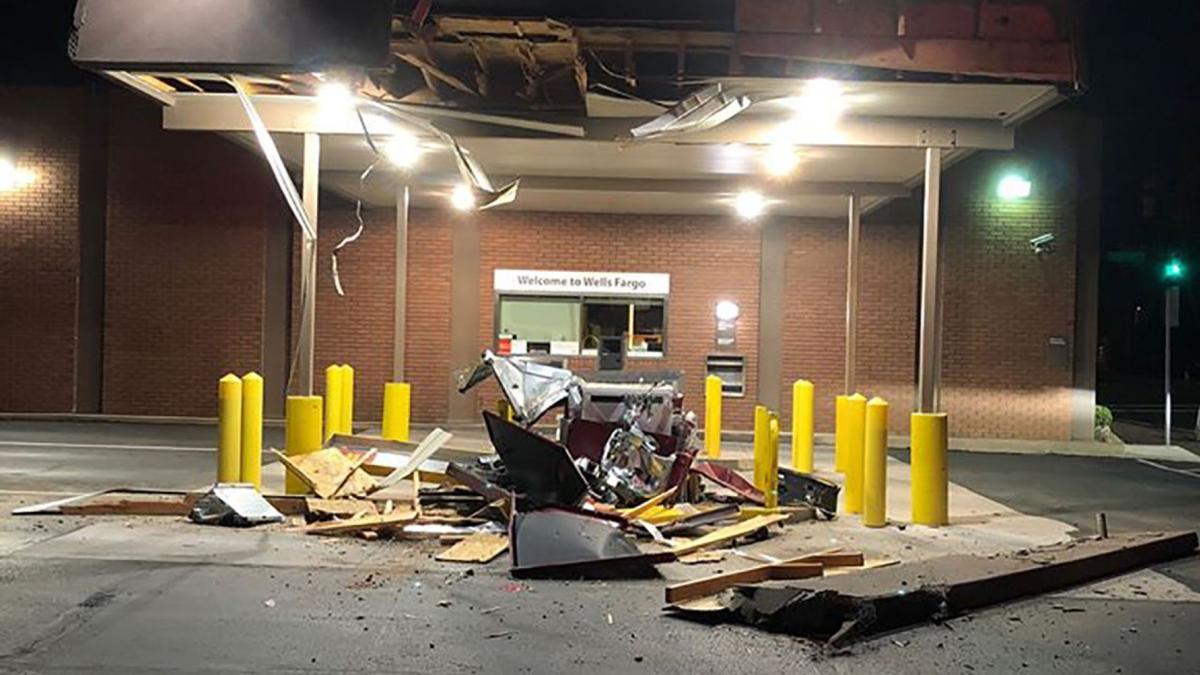 Utah Wells Fargo ATM Burglary Attempt