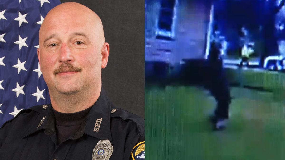 Shively officer Steve Becker and body cam footage of Terry L. Sams
