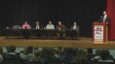 South Harrison students urged to report plans for violence after five arrested for threats