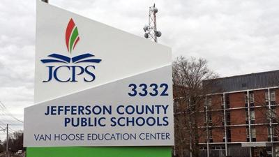 JCPS Board of Education Sign