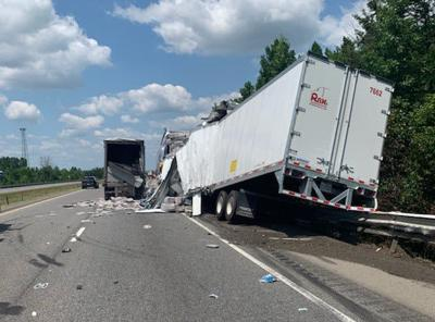 I-65N in Indiana reopens near Uniontown after semi crash