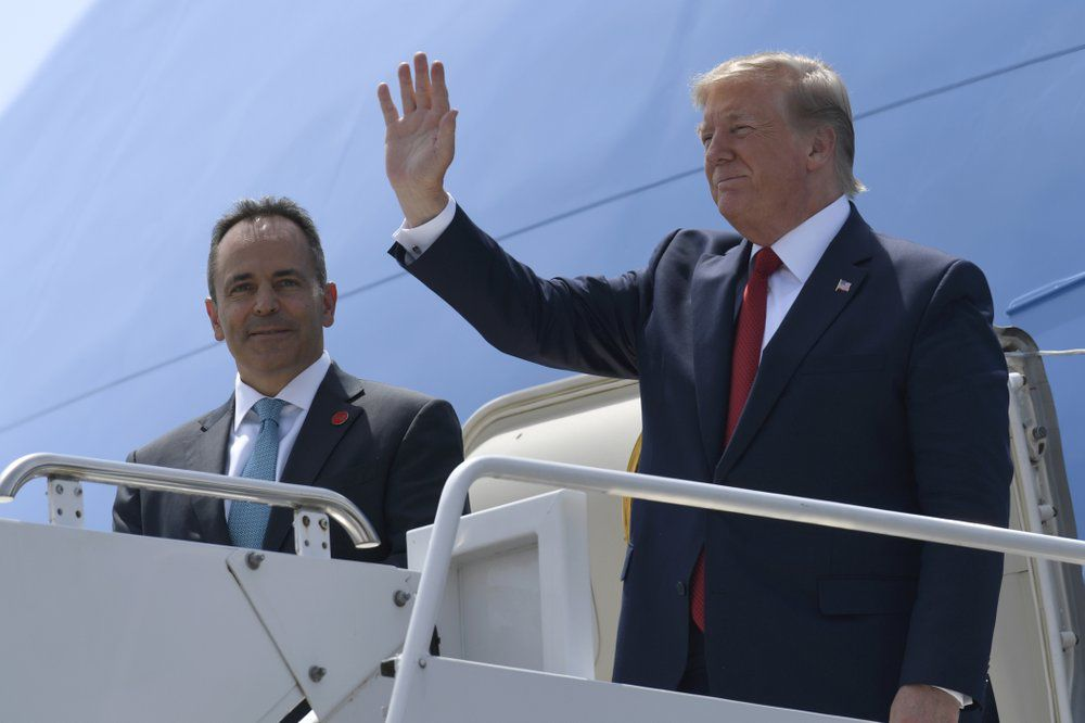 Gov. Matt Bevin and Donald Trump 8-21-19 AP.jpeg