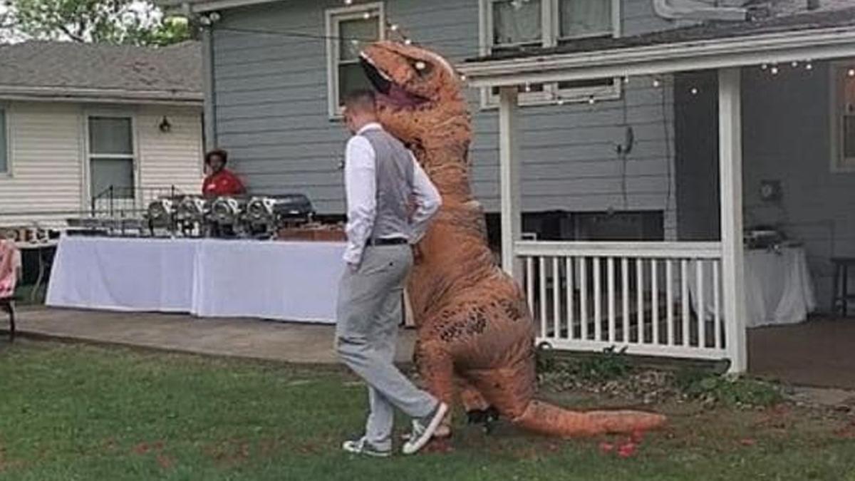 TRex Wedding