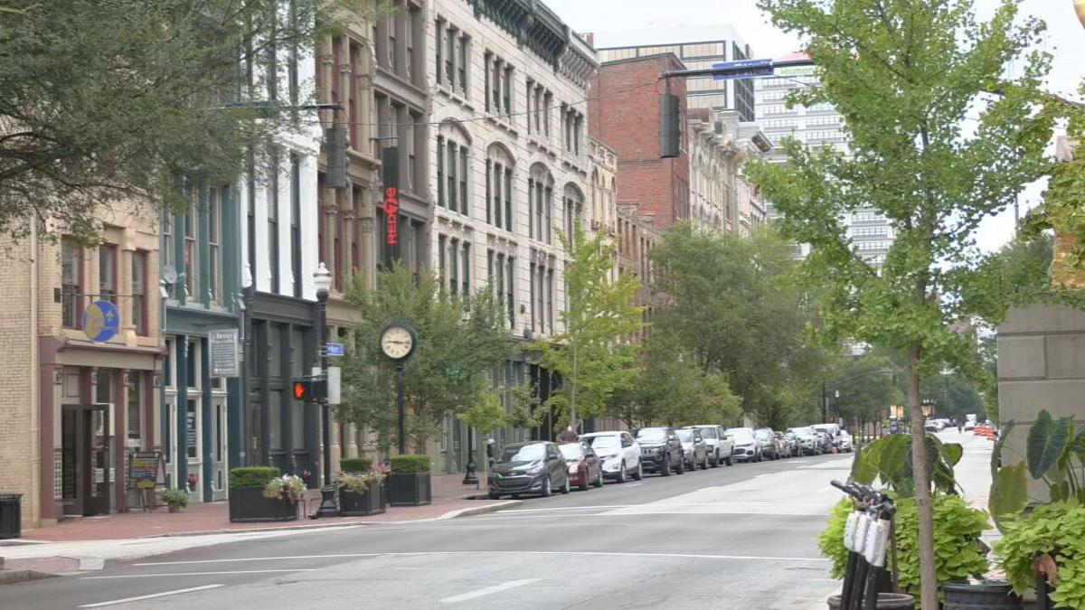 Downtown Louisville 8-30-21