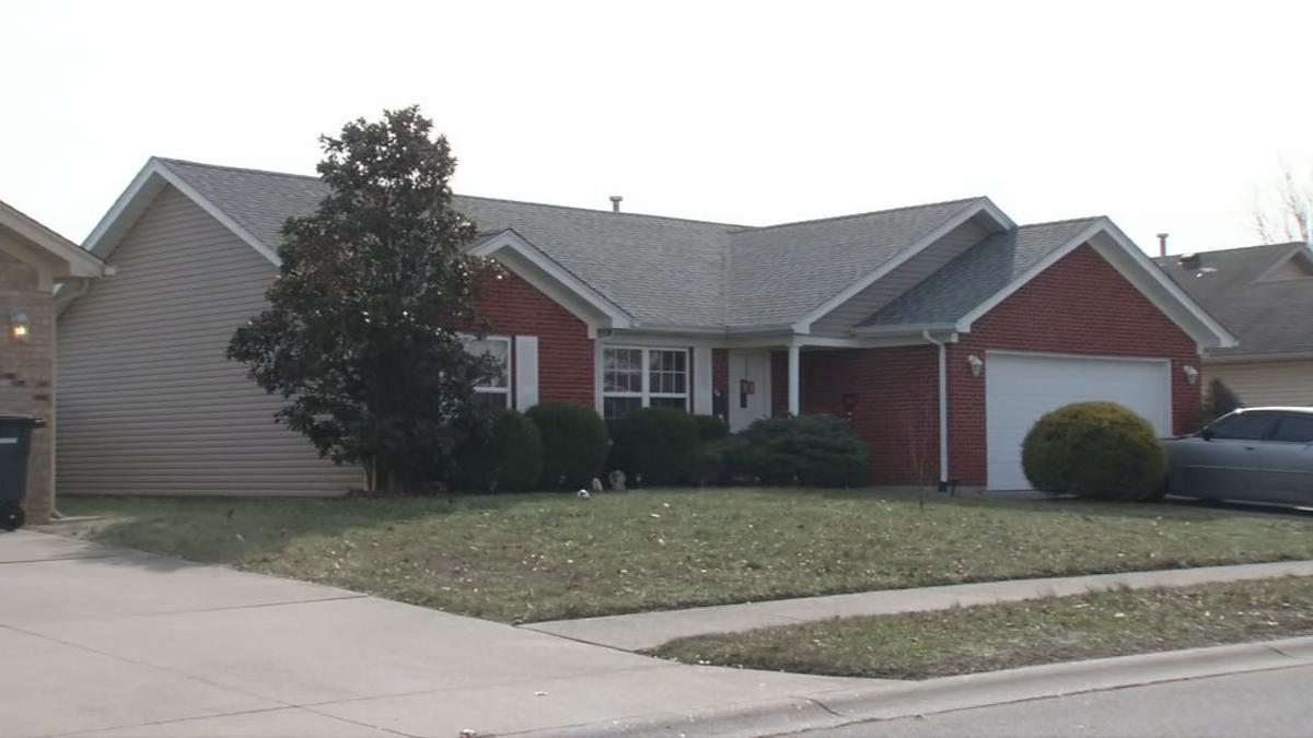 Tristan Trail home in Jeffersonville where police say Delta Trimble operated unlicensed daycare