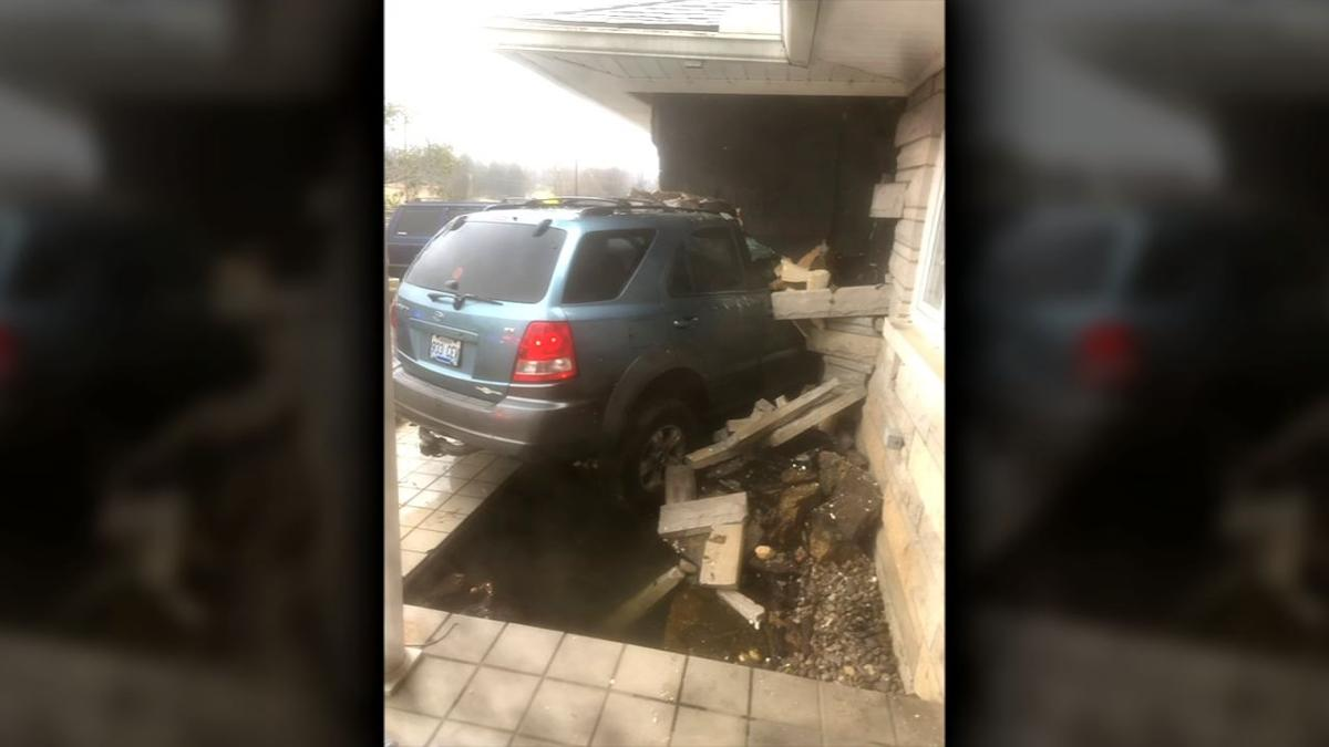 Vehicle Hits House Thixton Lane CU