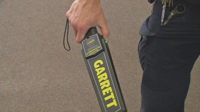 New Albany Floyd County School Board approves use of hand-held metal detectors