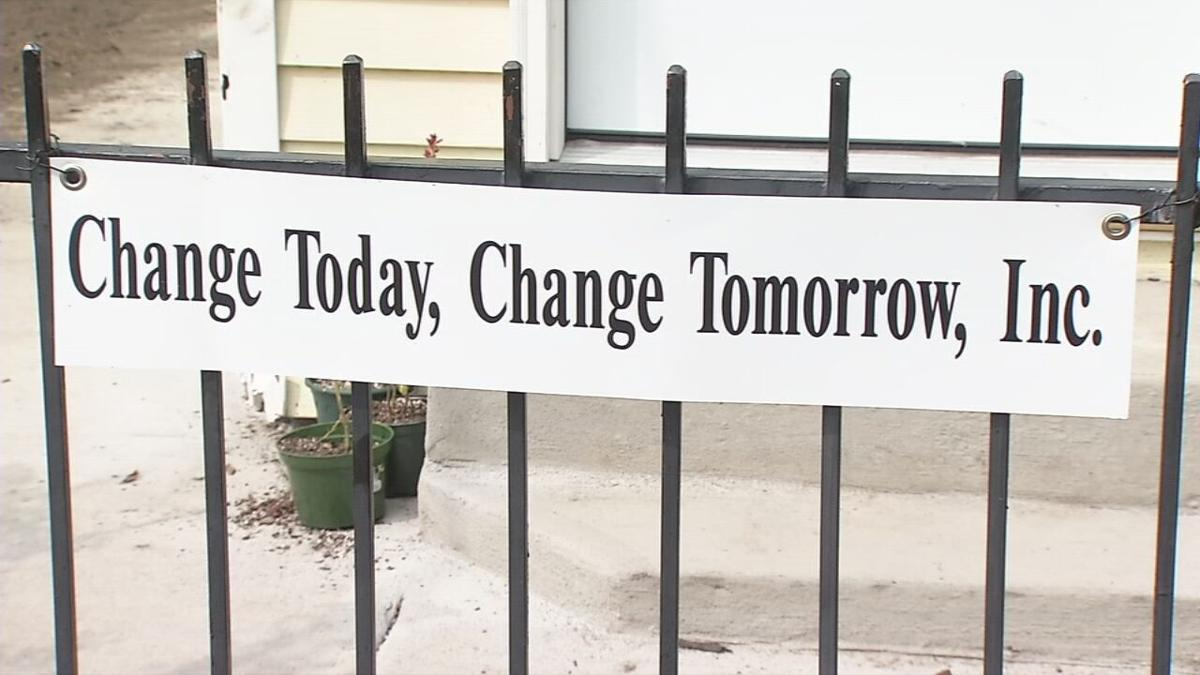 Sign at Louisville organization Change Today, Change Tomorrow