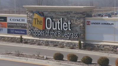 Outlet Shoppes of the Bluegrass Entrance