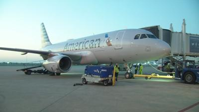 American Airlines First Flight to LAX from SDF
