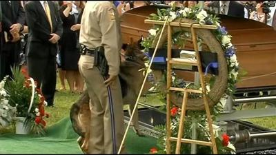 IMAGES: Funeral services for slain Bardstown Police Officer Jason Ellis