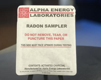 Free radon test kits available through the Louisville Metro Department of Public Health and Wellness
