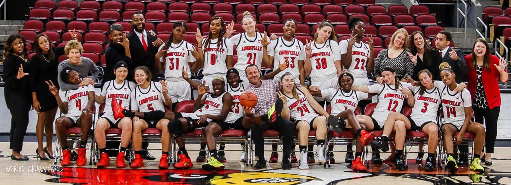 Louisville women's basketball team