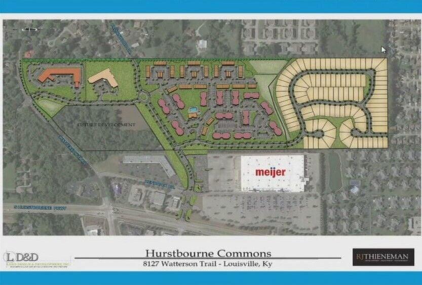 Plan of Hurstbourne Commons