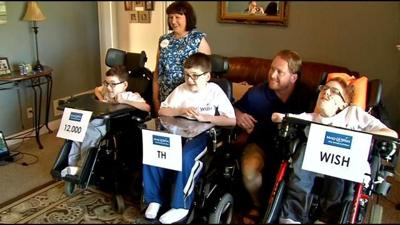 Surprise given to Bullitt Co. brothers facing life-threatening disease