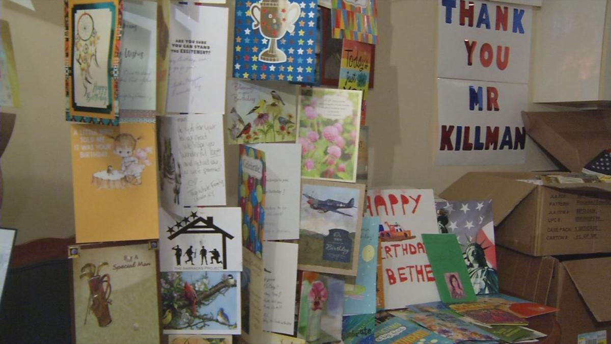 Scottsburg World War II veteran 'overwhelmed' with nearly 9,000 birthday cards