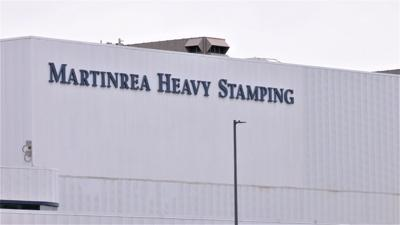 Martinrea Heavy Stamping in Shelbyville KY logo on building
