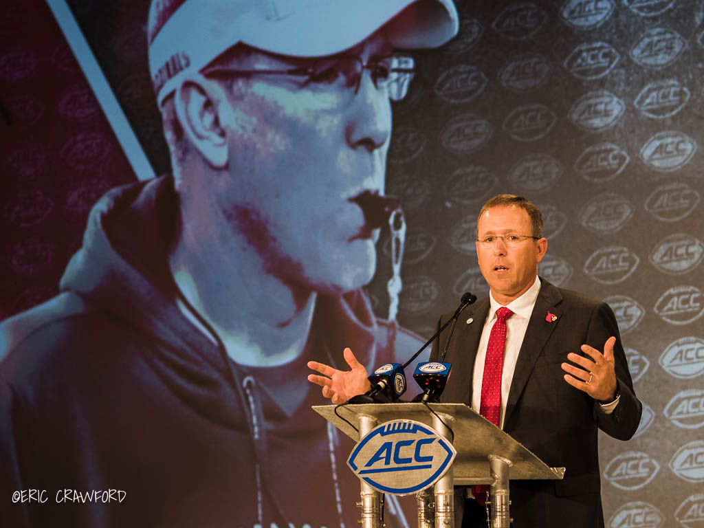 Scott Satterfield ACC media day