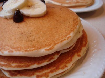 Enjoy a healthy stack of pancakes from North End Cafe