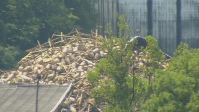 Bardstown officials believe bourbon spillage is contained after second warehouse collapse