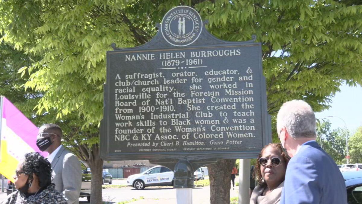 Nannie Helen Burroughs historical marker.jpeg