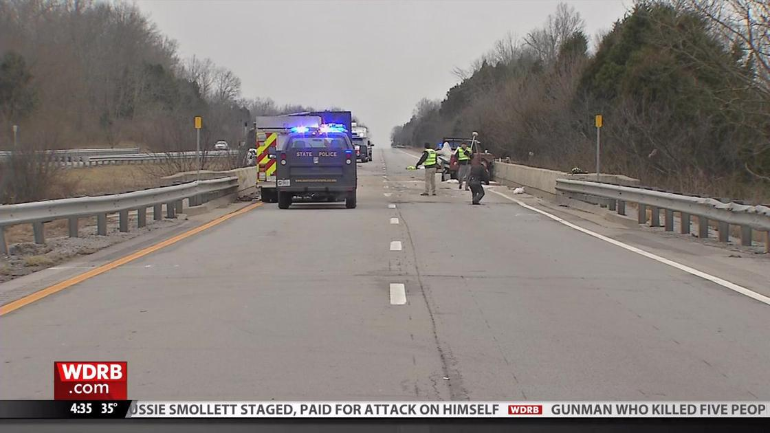 I-64 in Frankfort re-opens after 2 people die in crash