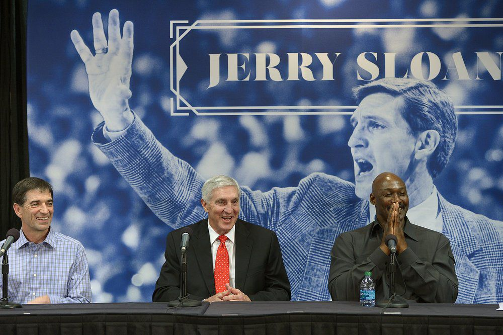 Jerry Sloan at 2014 news conference