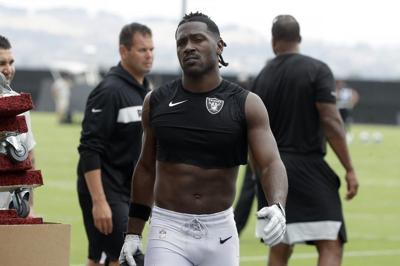 Raiders cut Antonio Brown before he ever plays for team