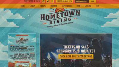 Hometown Rising Music Festival