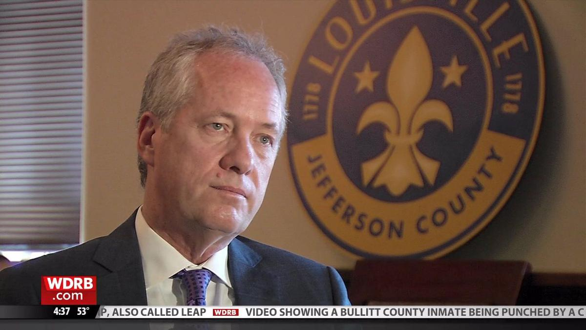 Louisville Mayor Greg Fischer talks crime, homelessness other issues facing the city during year-end interview