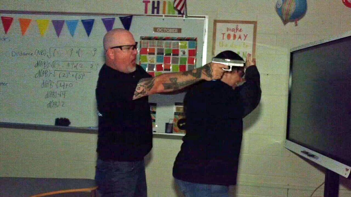 Active shooter training at Bullitt Central High School on Oct. 7, 2021
