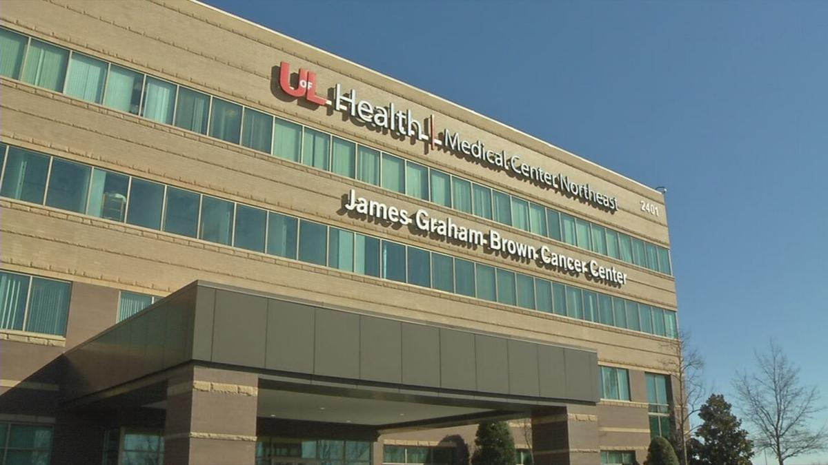 UofL Health's Medical Center Northeast off Old Henry Road.
