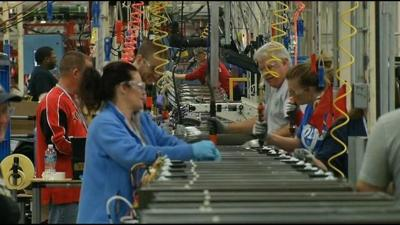 GE's first high-efficiency washer being produced at Appliance Park (SAVE FOR ACT)