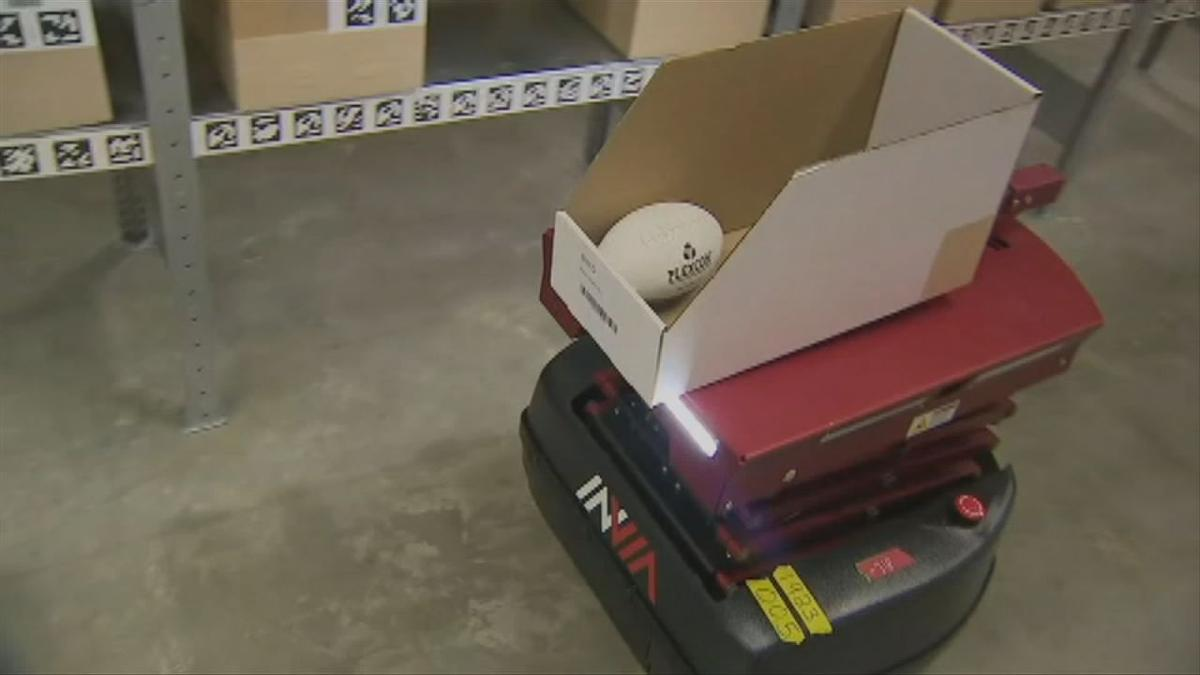 Retailers turning to robot warehouse assistants to manage extra holiday workload