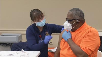 African Americans getting COVID-19 vaccinations in Louisville