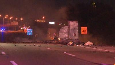 Truck carrying Axe body spray explodes in Texas