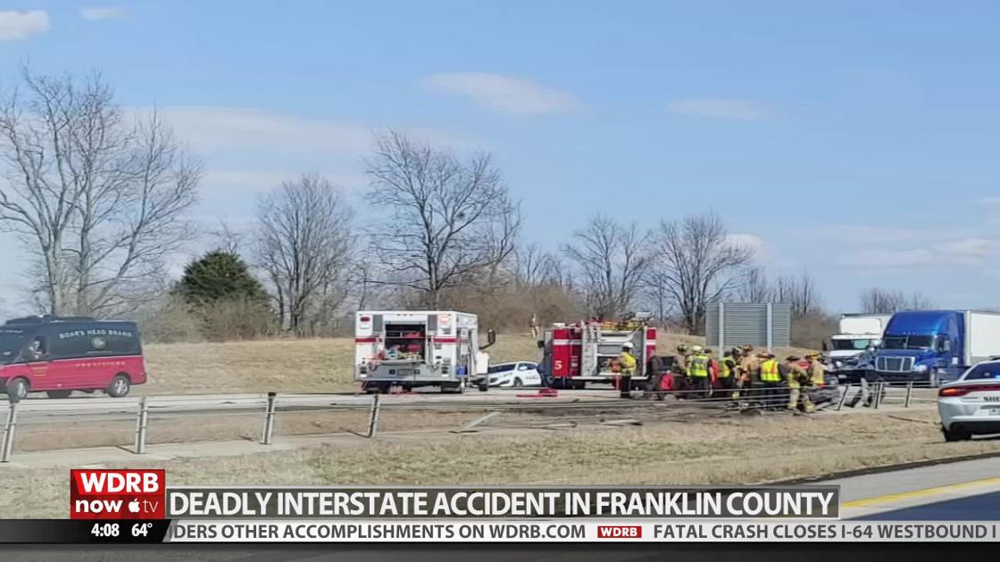 I-64 West reopens near Frankfort after fatal crash | Wdrb-video