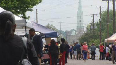 Downtown farmers market returns with 'dollar for dollar' program for SNAP customers
