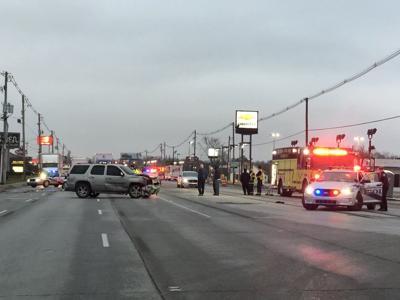 Dixie Highway Pedestrian Struck